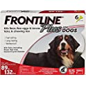 Frontline Plus Flea & Tick Treatment for Dogs , 6 Doses