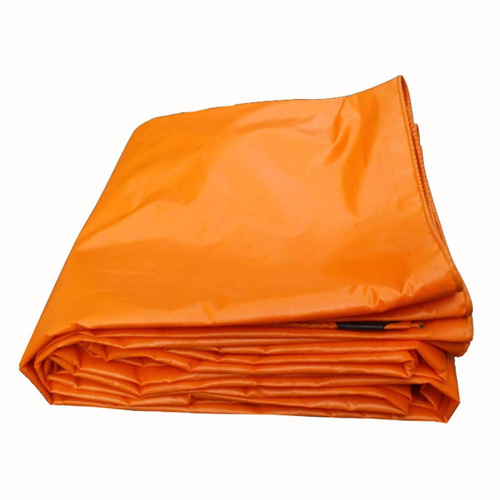 JIANFEI オーニング 防水耐寒性日焼け止め耐寒性防カビPVC、厚さ0.32mmカスタマイズ可能 (色 : Orange, サイズ さいず : 5.8x6.8m) B07FTNW3CR 5.8x6.8m|Orange Orange 5.8x6.8m