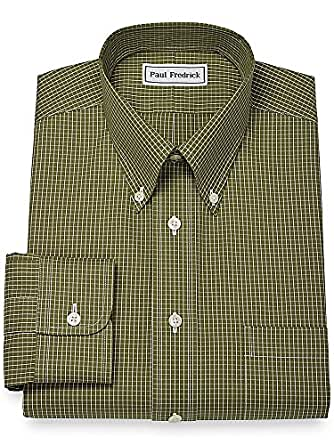 paul fredrick men 39 s non iron button down collar dress