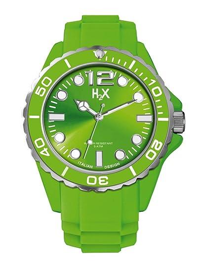 8f144a0b04e1 Haurex Reloj Analógico para Hombre de Cuarzo con Correa en Caucho SV382UV1   Amazon.es  Relojes