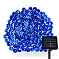 Dolucky Solar String Lights 200 LED - Powerful String Solar Lighting Outdoor Decoration - 1800mAh Waterproof Solar Fairy Lights - Great Kits for Garden, Landscape, Xmas Tree,Patio