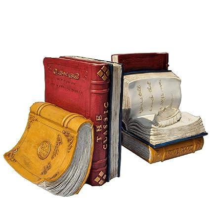 GX Sujetalibros para Libros Pesados, diseño Vintage ...