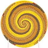 Fair Trade Zulu African Wire Shallow Plate, Approximately 5.75'' Across, #31845