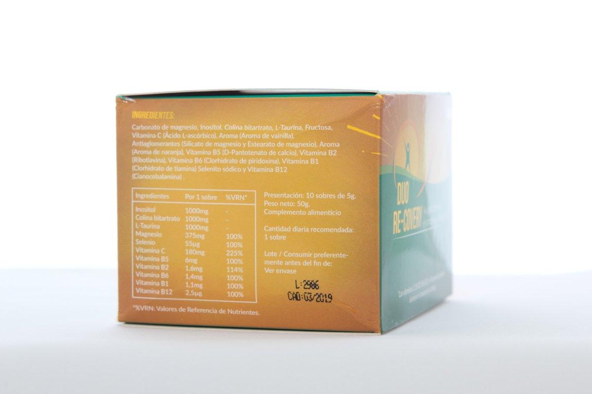 Duo Recovery (pack 10 sobres) -- RECUPERA LA ENERGÍA FÍSICA Y MENTAL Y AYUDA A PROTEGER EL HIGADO -- Con Vitaminas B12 B1 B2 B5 B6, Colina, Magnesio, ...