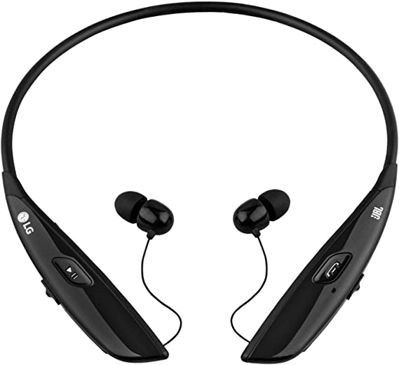 Amazon Com Lg Electronics Tone Ultra Hbs 810 Bluetooth Wireless Stereo Headset Retail Packaging Black