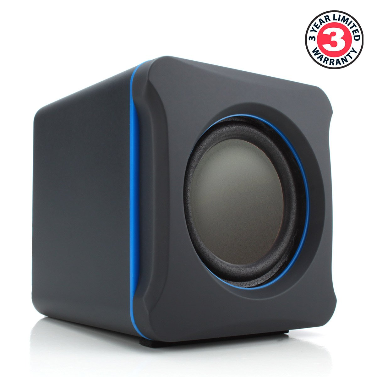 speakers with subwoofer. amazon.com: 2.1 pc speakers system with subwoofer by gogroove - sonaverse lbr usb powered 3.5mm aux audio input, bass / volume control knobs, s
