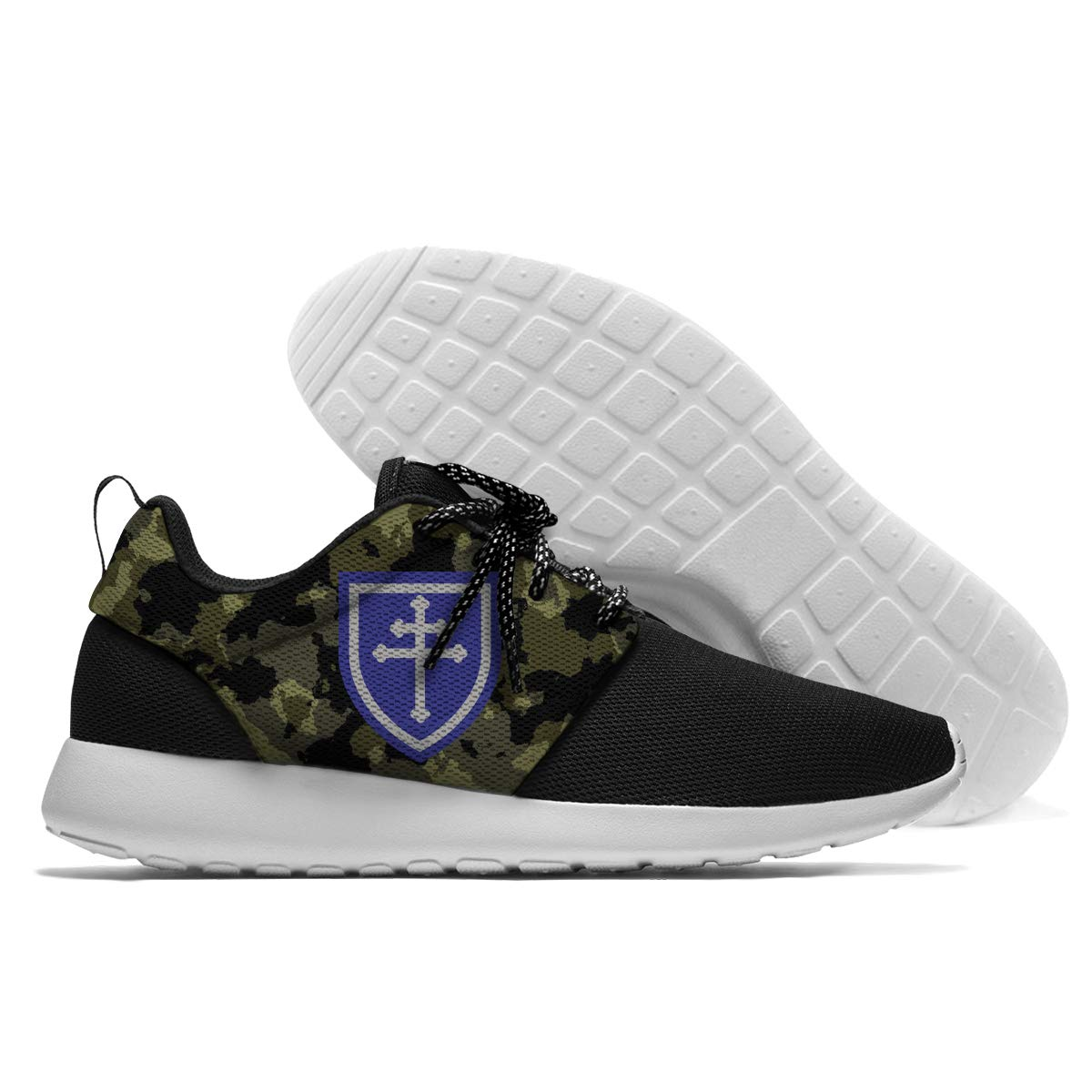 RUNPOOR 79th Infantry Division Running Sneakers Walking Shoes