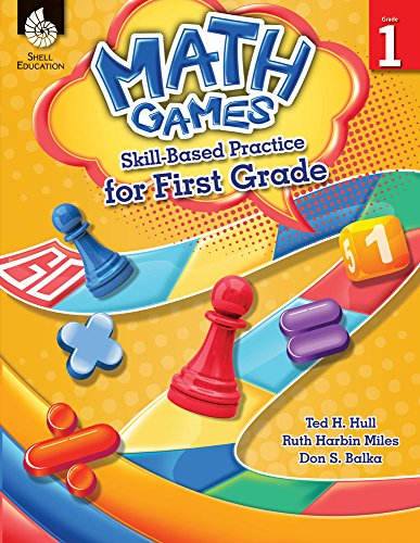 Set Journal Math (Math Games: Skill-Based Practice for First Grade)