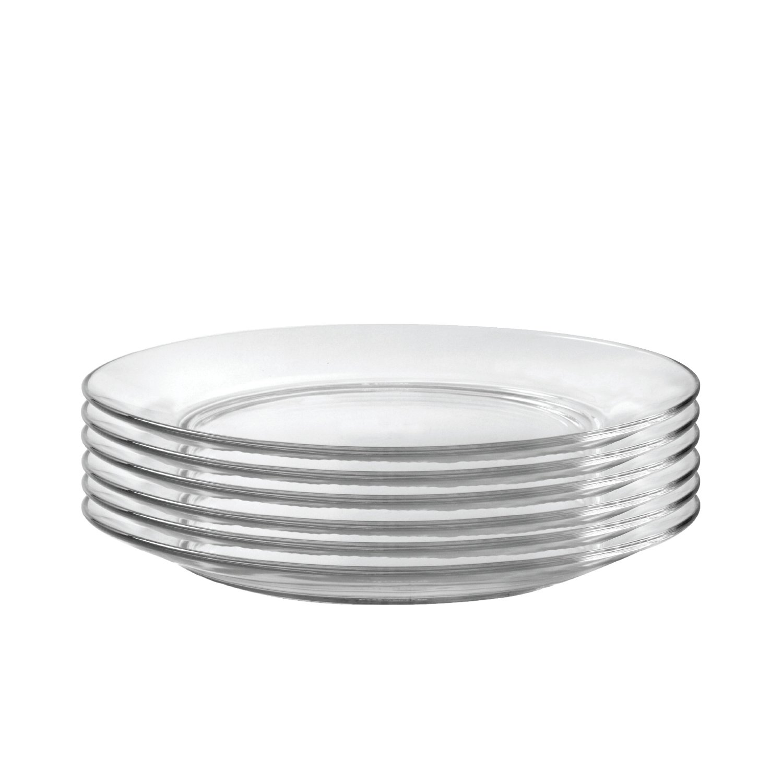 Duralex Made in France 3009AF06/6 Lys Dinnerware 11 Inch Dinner Plate