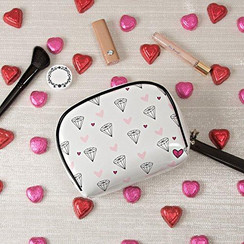 Pavilion Gift Company 71613 Philosophies-Look How She Sparkles! Waterproof Wedding Makeup Bag Wristlet, Solid by Pavilion Gift Company (Image #3)