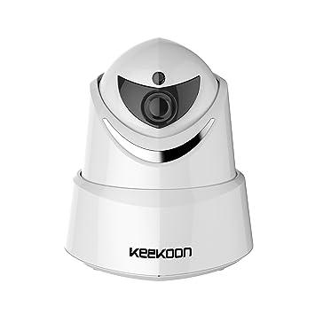 Keekoon Sistema de cámara de Seguridad 2.0MP 1080P HD WiFi IP con función de Giro