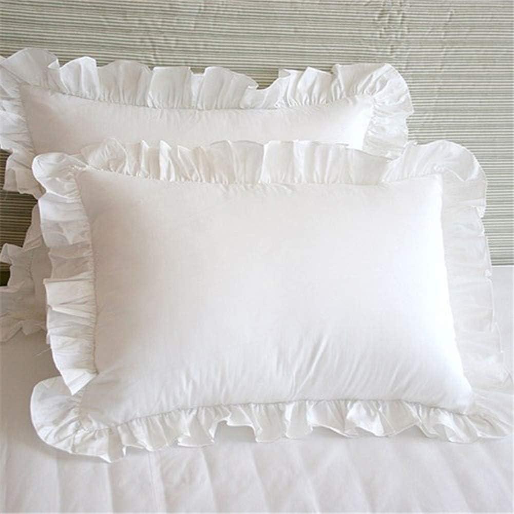 Mokia Frilled Pillowcase,1Pair Edge