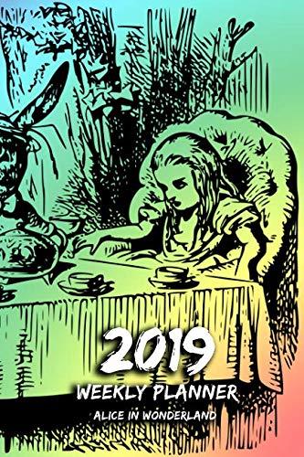 2019 Weekly Planner - Alice in Wonderland: 1 Week per Page   6