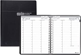 product image for House of Doolittle 2020-2021 Professional Weekly Planner, Academic, Black, 8.5 x 11 Inches, August - July (HOD257202-21)