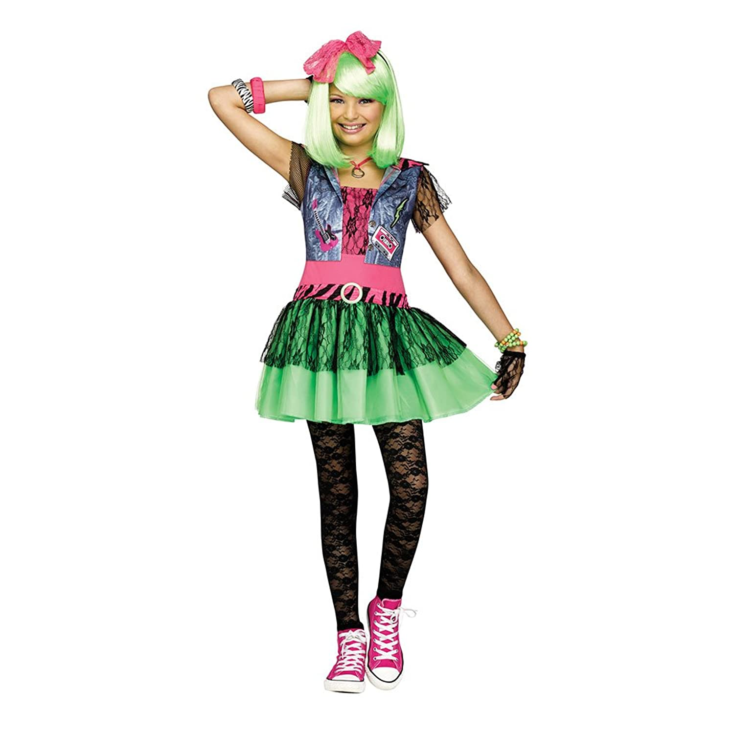sc 1 st  Amazon.com & Amazon.com: Rockin 80u0027S Costume for Kids: Clothing