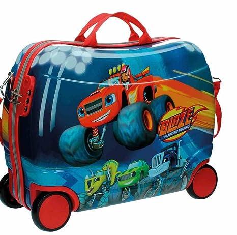 Blaze Equipaje Infantil, 38 litros, Color Rojo