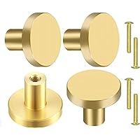 CAPRICIOUS Kastknoppen 4 stuks mgrepen gouden meubelknoppen goud messing handgrepen messing meubels knoppen kastknoppen…