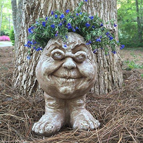 Muggly's Homestyles 37037 Grandma Rose Face Planter 15