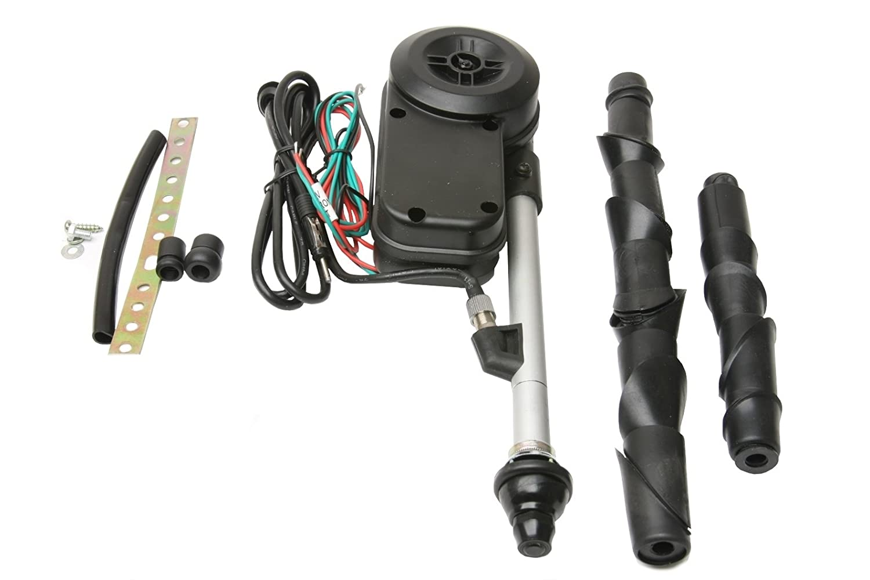 URO Parts AUTA2030B Black Mast Antenna Assembly
