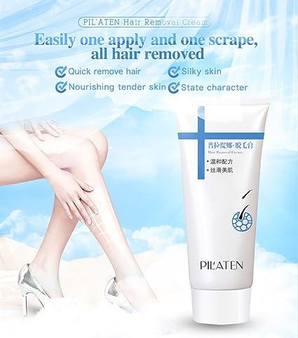 Pil aten – Unisex sin dolor depilatoria depilación crema ...