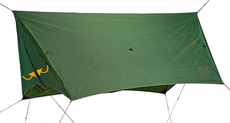 Amazonas Ultra-Light Wing Tarp Zelt-Ersatz mit 360° Wetterschutz in Grün
