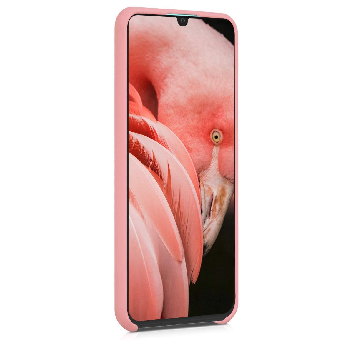 Housse de t/él/éphone en Silicone Or Rose m/étallique Coque pour Huawei P30 Lite kwmobile Coque Huawei P30 Lite
