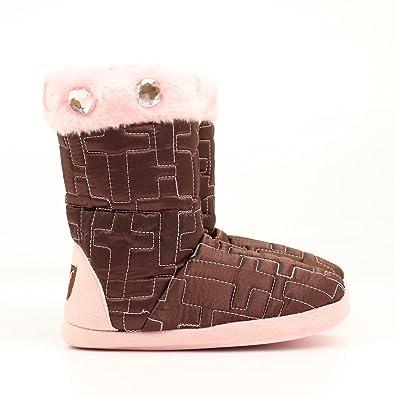 Amazon.com: M&F - Zapatillas acolchadas de cruz para niñas ...
