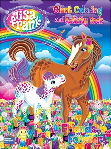A Magical World! Giant Coloring and Activity Book Lisa Frank: Amazon ...