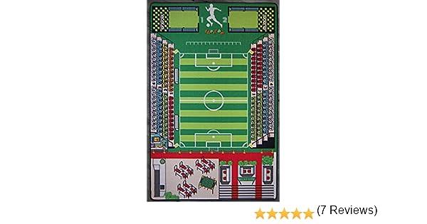 TAPITOM Alfombra de fútbol para niños - Alfombra de Campo de fútbol 200 X 130 cm: Amazon.es: Juguetes y juegos