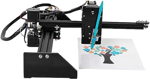 ETE ETMATE - Kit de instalación de robot de dibujo, máquina de embrague de 2 ejes, láser de punta, grabado, láser CNC, para escritura de bloque de tijeras, robots de lápiz, plotter: