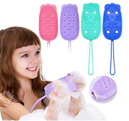 4pcs Bubble bath brush Bath Exfoliating Scrubber for Wet or Dry Brushing  Massage with Scrub Shower 2-sided Bristles to Improve Your Blood  Circulation: Amazon.co.uk: Beauty