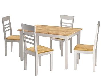 Loft24 Sitzgruppe Essgruppe 5 Teiliges Esszimmer Set Esszimmertisch