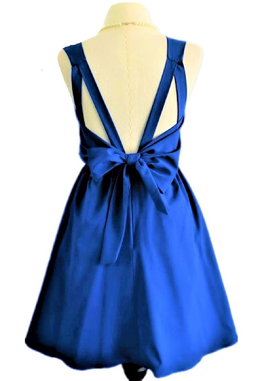 JeVenis Damen Luxus Party Abendkleid Cocktail Bow Zurück Kleid ...