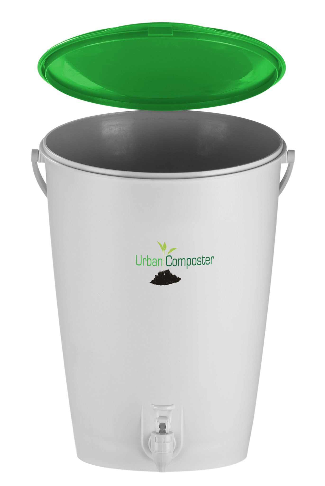 Exaco UClarge-G Urban Composter, 4 Gal, Green