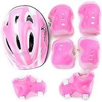 Pandamama Coderas Protector para patineta de Bicicleta Rodillo de Patinaje sobre Hielo Rodillera Protector para niños