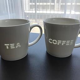 Amazon Co Jp Tamaki マグカップ 透かし Tea 直径9 高さ8 5cm 350ml 電子レンジ 食洗機対応 T 907641 ホーム キッチン