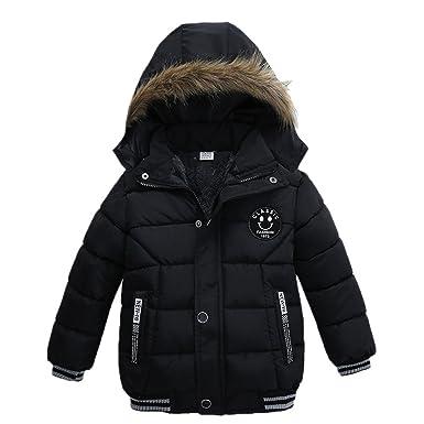 1292fedd70d6a Sunenjoy Bébé Garçons Filles Épais Mode Manteau Rembourré Hiver Veste  Vêtements pour Enfants 2 3 4