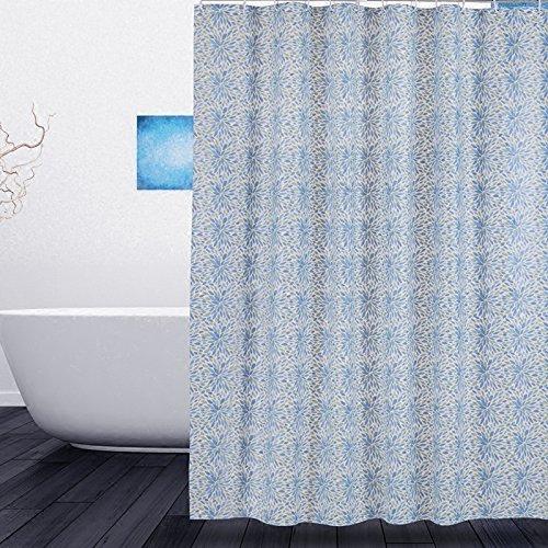 JaHGDU Shower Curtain 1pcs Shower Curtain PEVA Printing Bathroom Amenities Mildewproof Plain Bathroom Durable Partition Bath Curtain Toilet Shade Super Quality Opaque (Size : Wide 180high 180)
