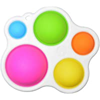 Fidget Dimple Toy,Stress Relief Hand Toys for Kids and Adults,Easy-to-use and Addictive Decompression,Soft Silicone…