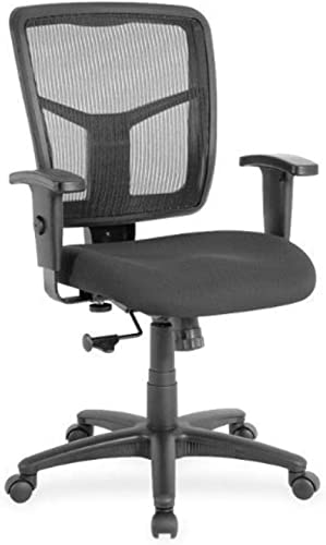 Lorell LLR86209 Managerial Mesh Mid-Back Chair