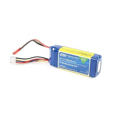 E-flite 11.1V 800mAh 3S 30C LiPo Battery: JST, EFLB8003SJ30: Toys & Games