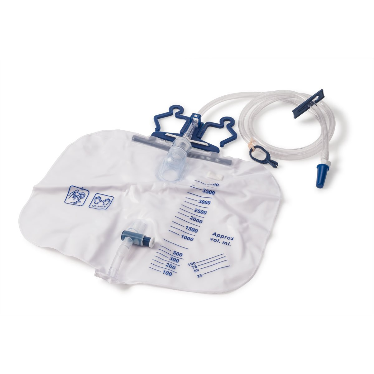4000mL Urine Collection Drainage Bags Latex free