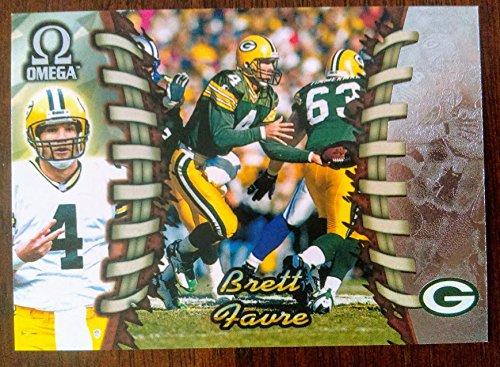 Brett Favre - 1998 Pacific Omega #88- Green Bay Packers Hall of Famer