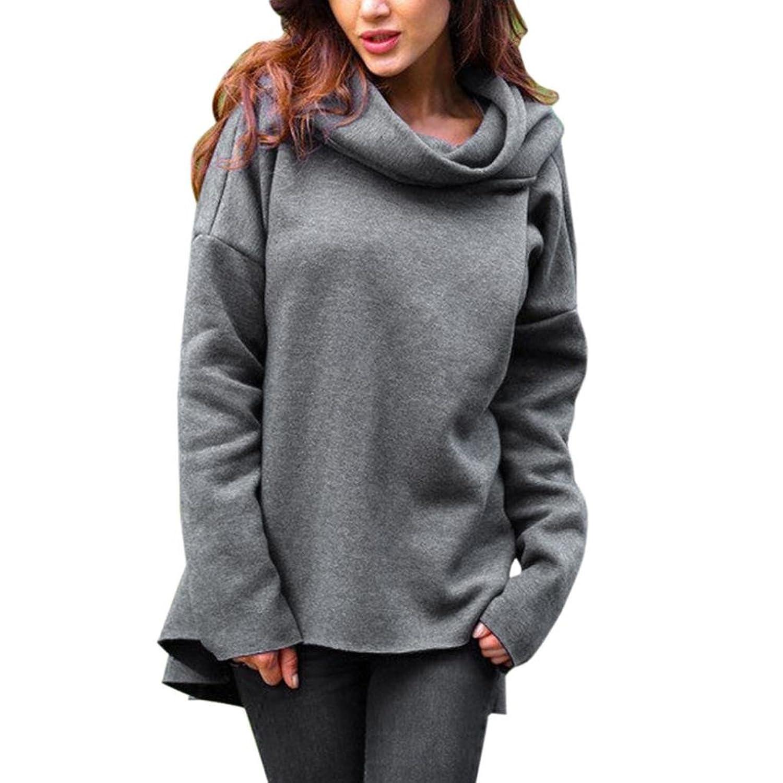Women Sweatshirt, Realdo Long Sleeve Hoodie Jumper Pullover Blouse