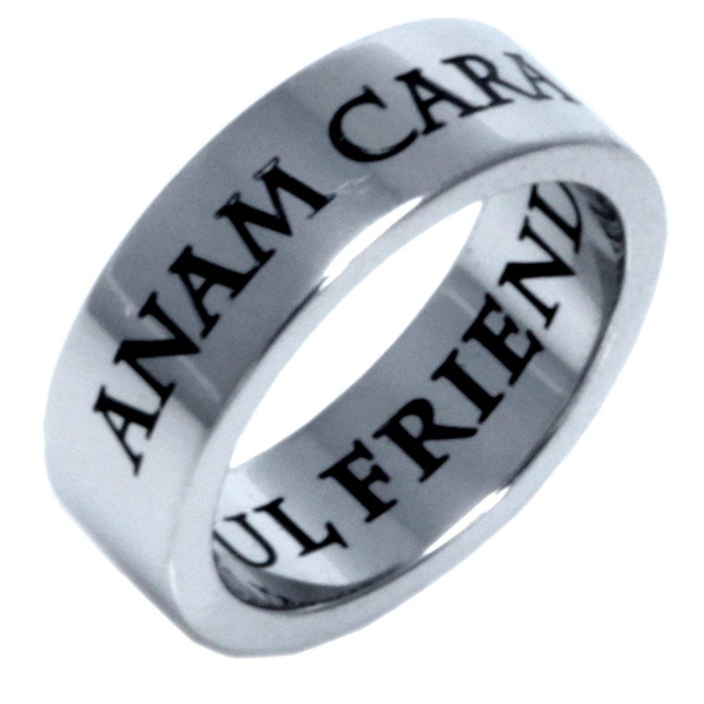 Friendship Jewelry Celtic Jewelry Soul Friend Ring Friendship Ring Rush Industries ANAM Cara Irish Celtic Ring