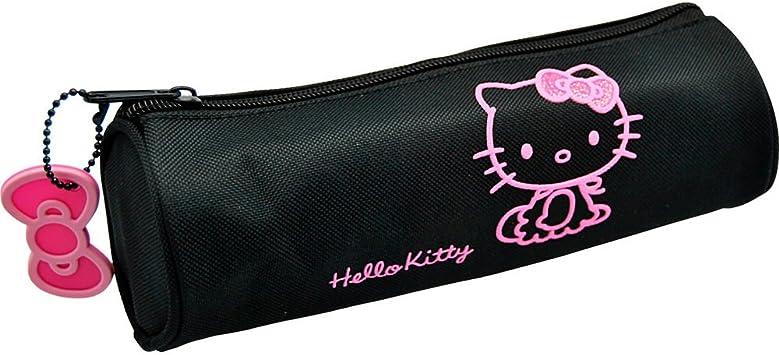 SANRIO - Estuche portadodo Glitter Hello Kitty: Amazon.es: Juguetes y juegos