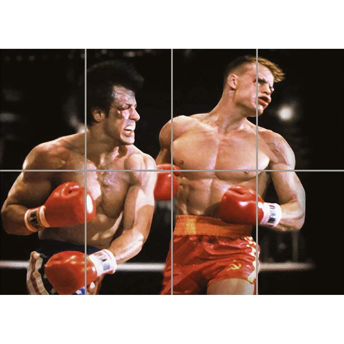 Doppelganger33 LTD Rocky IV 4 Giant Poster Picture Print X3106