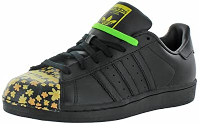 adidas X Pharrell Williams Men's Superstar Shoes Black Size 9