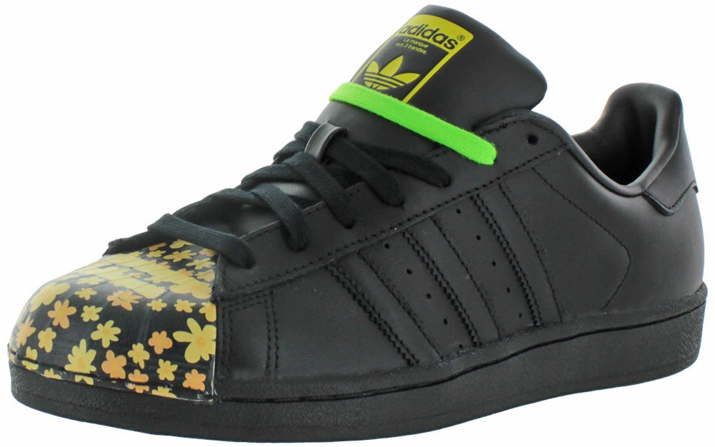 chaussures de sport f9c1d 56995 adidas X Pharrell Williams Men's Superstar Shoes Black Size 13