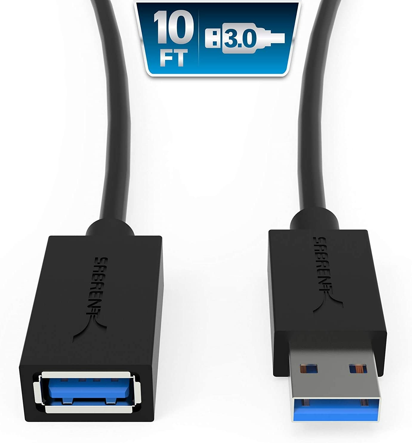 USB 3.0 A Male Plug to Female Super Speed Extension Cable For PC 0.5,1,1.5,2M BH